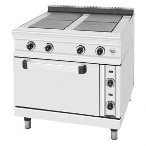 Κουζίνα ηλεκτρική 4 εστίες και φούρνο