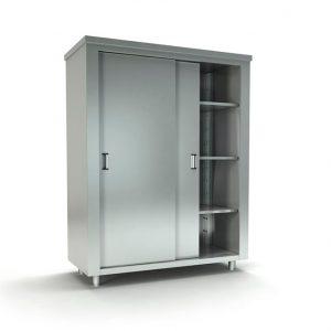 Επαγγελματικές ντουλάπες σκευών ανοξείδωτες