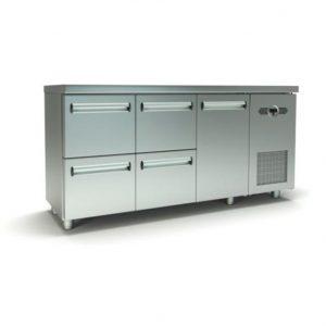Ψυγείο πάγκος με συρτάρια